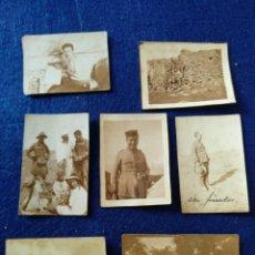 Militaria: LOTE DE 7 FOTOGRAFÍAS MILITARES. Lote 178198841