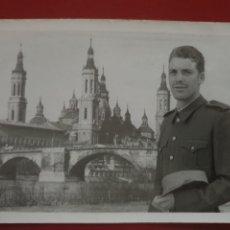 Militaria: MILITAR EN EL PILAR DE ZARAGOZA. Lote 178247347