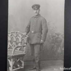 Militaria: SOLDADO IMPERIAL ALEMAN FOTO DE ESTUDIO. II REICH. AÑOS 1914-18. Lote 178306258