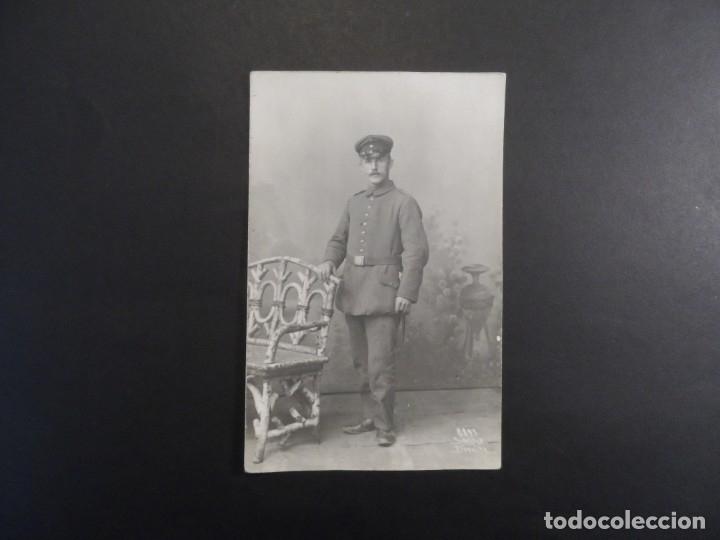 Militaria: SOLDADO IMPERIAL ALEMAN FOTO DE ESTUDIO. II REICH. AÑOS 1914-18 - Foto 2 - 178306258