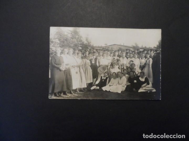 Militaria: SOLDADOS IMPERIALES ALEMANES Y SEÑORITAS ALEMANAS. SCHLESWIG-HOLSTEIN. II REICH. AÑOS 1914-18 - Foto 2 - 178659205