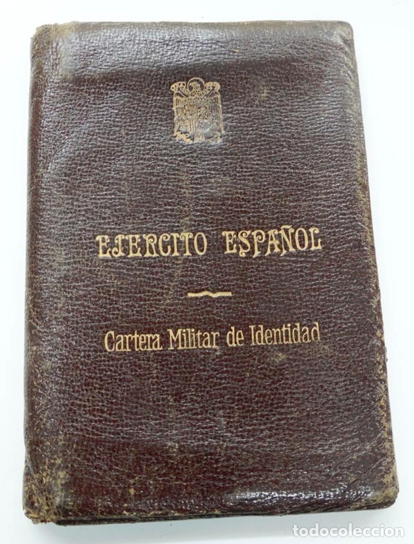 CARTERA MILITAR DE IDENTIDAD,EJÉRCITO ESPAÑOL (Militar - Fotografía Militar - Otros)