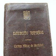 Militaria: CARTERA MILITAR DE IDENTIDAD,EJÉRCITO ESPAÑOL. Lote 178830691