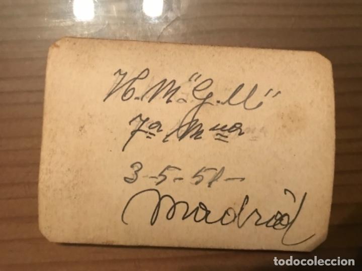 Militaria: ANTIGUA FOTOGRAFÍA MILITAR SOLDADOS HOSPITAL MILITAR GÓMEZ ULLA MADRID 1951 - Foto 2 - 178832315