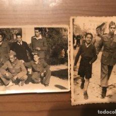 Militaria: ANTIGUAS FOTOGRAFÍAS MILITARES SOLDADOS MADRID AÑOS 50. Lote 178832341