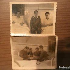 Militaria: ANTIGUAS FOTOGRAFÍAS MILITARES SOLDADOS HOSPITAL GÓMEZ ULLA MADRID AÑOS 50. Lote 178832382