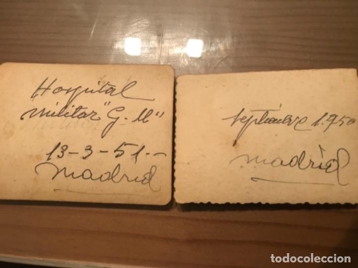 Militaria: ANTIGUAS FOTOGRAFÍAS MILITARES SOLDADOS HOSPITAL GÓMEZ ULLA MADRID AÑOS 50 - Foto 4 - 178832382