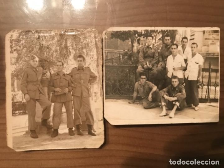 ANTIGUAS FOTOGRAFÍAS MILITARES SOLDADOS HOSPITAL MILITAR GÓMEZ ULLA AÑOS 50 (Militar - Fotografía Militar - Otros)