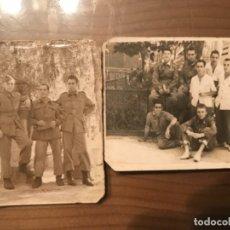 Militaria: ANTIGUAS FOTOGRAFÍAS MILITARES SOLDADOS HOSPITAL MILITAR GÓMEZ ULLA AÑOS 50. Lote 178832396