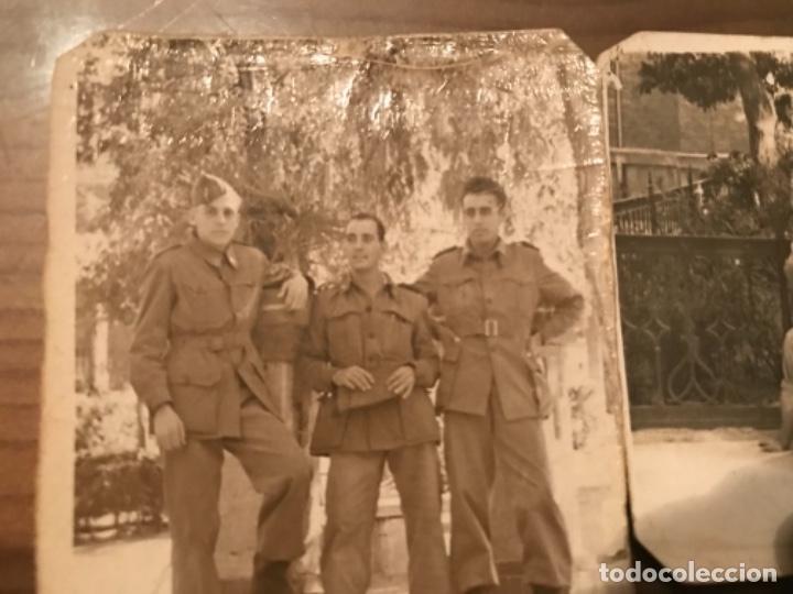 Militaria: ANTIGUAS FOTOGRAFÍAS MILITARES SOLDADOS HOSPITAL MILITAR GÓMEZ ULLA AÑOS 50 - Foto 2 - 178832396