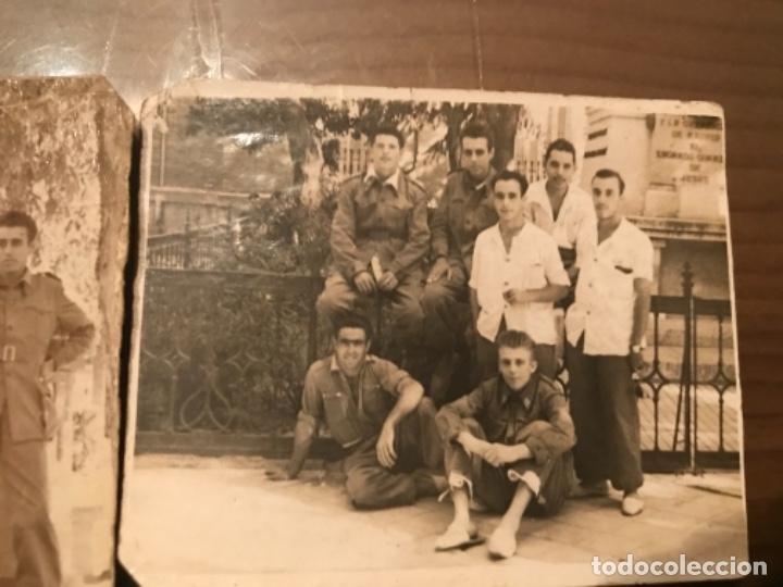 Militaria: ANTIGUAS FOTOGRAFÍAS MILITARES SOLDADOS HOSPITAL MILITAR GÓMEZ ULLA AÑOS 50 - Foto 3 - 178832396