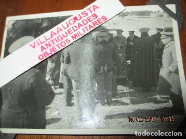 Militaria: FOTO ORIGINAL E INEDITA EN PLENA GUERRA CIVIL CORONELES Y OFICIALES REPUBLICA ZONA EBRO - Foto 3 - 178870477