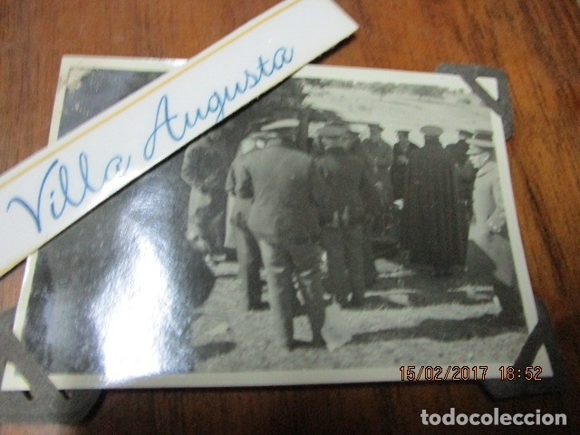 Militaria: FOTO ORIGINAL E INEDITA EN PLENA GUERRA CIVIL CORONELES Y OFICIALES REPUBLICA ZONA EBRO - Foto 4 - 178870477