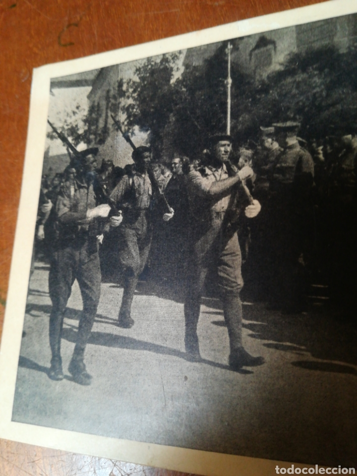 Militaria: Antigua foto postal, SEVILLA JULIO 1936 - Foto 2 - 178927425