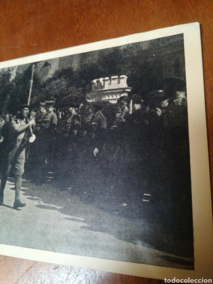 Militaria: Antigua foto postal, SEVILLA JULIO 1936 - Foto 3 - 178927425