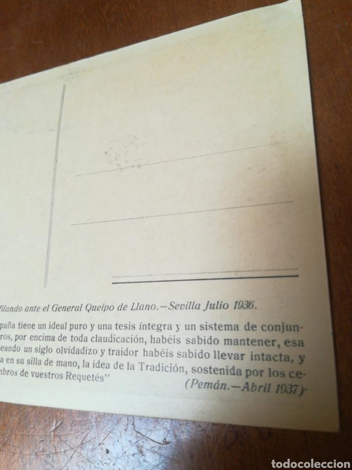 Militaria: Antigua foto postal, SEVILLA JULIO 1936 - Foto 5 - 178927425