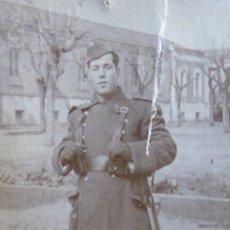 Militaria: FOTOGRAFÍA SOLDADO AVIACIÓN. CUATRO VIENTOS. Lote 178986445