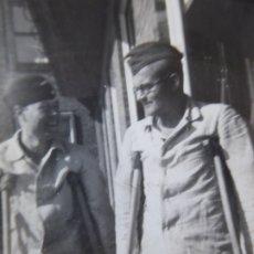 Militaria: FOTOGRAFÍA MARINEROS ALEMANES KRIEGSMARINE. ADMIRAL GRAF SPEE HOSPITAL. Lote 179039960