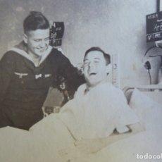 Militaria: FOTOGRAFÍA MARINEROS ALEMANES KRIEGSMARINE. ADMIRAL GRAF SPEE HOSPITAL. Lote 179040588