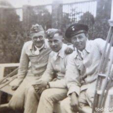 Militaria: FOTOGRAFÍA MARINEROS ALEMANES KRIEGSMARINE. ADMIRAL GRAF SPEE HOSPITAL. Lote 179040757