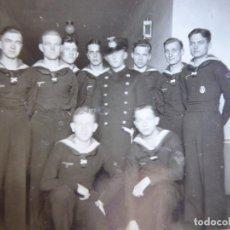 Militaria: FOTOGRAFÍA MARINEROS ALEMANES KRIEGSMARINE. ADMIRAL GRAF SPEE HOSPITAL. Lote 179040898