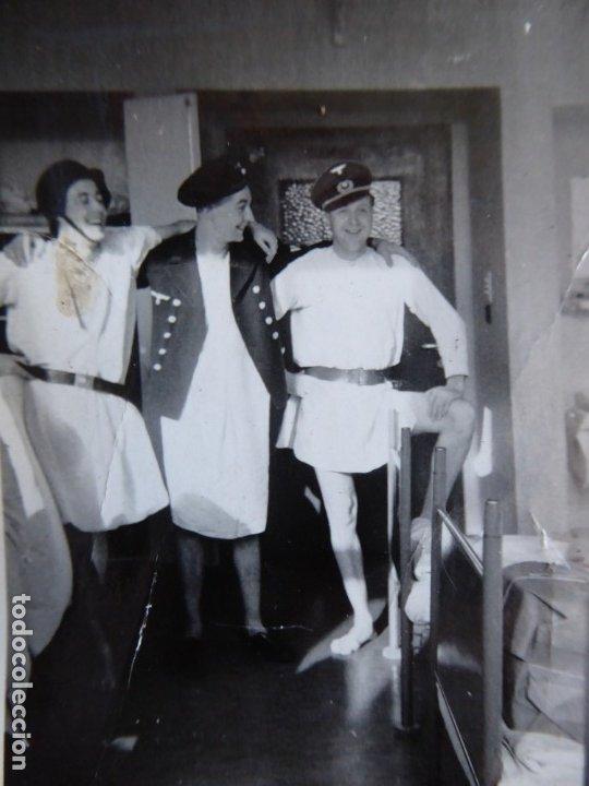 FOTOGRAFÍA MARINEROS ALEMANES KRIEGSMARINE. ADMIRAL GRAF SPEE HOSPITAL (Militar - Fotografía Militar - II Guerra Mundial)