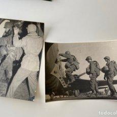 Militaria: PHOTO DES SERVICES CINÉMATOGRAPHIQUES DES ARMÉES , 2 FOTOGRAFÍAS ORIGINALES , GUERRA. Lote 179313802
