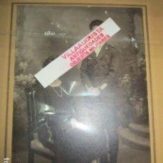 Militaria: PILOTO AVIACION JEFE ESTADO MAYOR VALENCIA EN GUERRA CIVIL INDULTADO POR FRANCO DOCUMENTO MILITAR. Lote 179561081