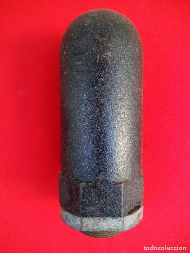 Militaria: Detonador o cuerno de hertz de una mina de orinque con su protector, posiblemente alemana de iiww. - Foto 3 - 180028312