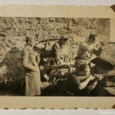 Militaria: GUERRA CIVIL. PUESTO DE AMETRALLADORA. SEGURAMENTE FRENTE DE ZARAGOZA. Lote 180199188
