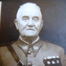 Militaria: FOTOGRAFÍA CAPITÁN HABILITADO DEL EJÉRCITO NACIONAL.. Lote 180199891