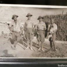 Militaria: FOTOGRAFÍA DE MILITARES ESPAÑOLES EN MARRUECOS. AÑOS 20. Lote 180200647