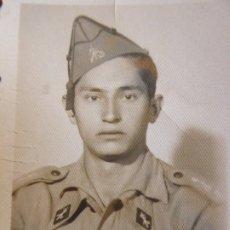 Militaria: FOTOGRAFÍA LEGIONARIO. LARACHE 1949. Lote 180206200