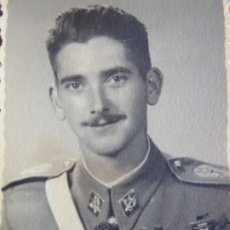 Militaria: FOTOGRAFÍA ALFÉREZ PROVISIONAL DEL EJÉRCITO ESPAÑOL. GUADALAJARA. Lote 180206787