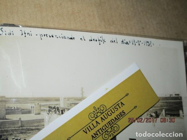 Militaria: FOTO INEDITA DESFILE DE FIN DE GUERRA CIVIL ALTOS MANDOS 19 - V -1939 ESPERANDO - Foto 2 - 180212365