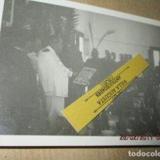 Militaria: FOTO INEDITA DISCURSO DE MANDOS LEGION SOBRE FINAL GUERRA CIVIL 19 - V -1939 ESPERANDO. Lote 180212573