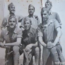 Militaria: FOTOGRAFÍA SOLDADOS ARTILLERÍA DEL EJÉRCITO NACIONAL. GUERRA CIVIL. Lote 180280106