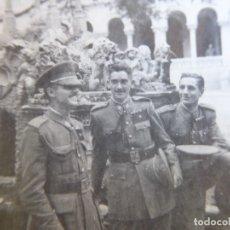 Militaria: FOTOGRAFÍA ALFÉRECES PROVISIONALES DEL EJÉRCITO ESPAÑOL. GUADALAJARA. Lote 180280852