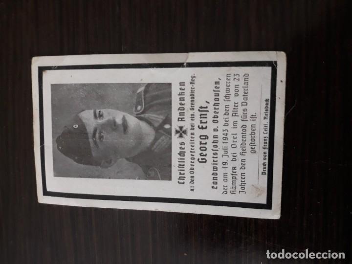 Militaria: Lote de esquelas cartas de la muerte, alemanas 2 guerra mundial - Foto 9 - 180471123