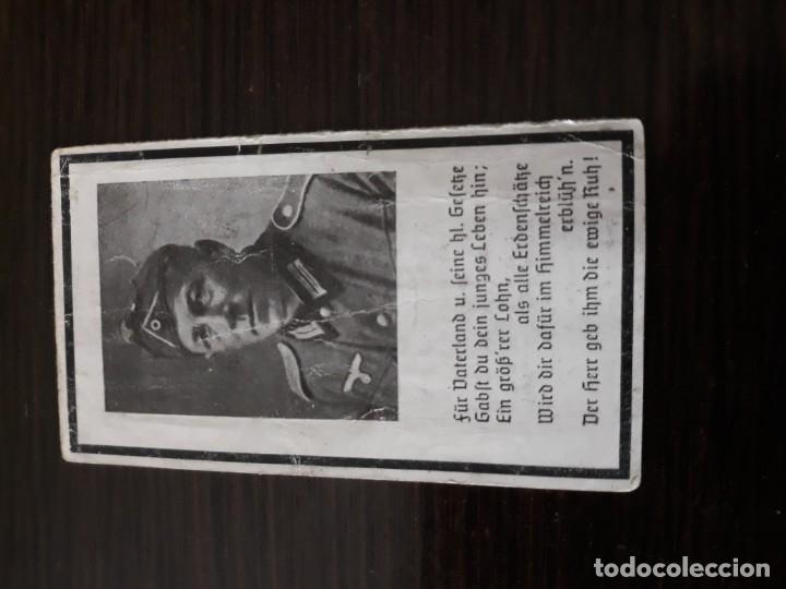 Militaria: Lote de esquelas cartas de la muerte, alemanas 2 guerra mundial - Foto 11 - 180471123