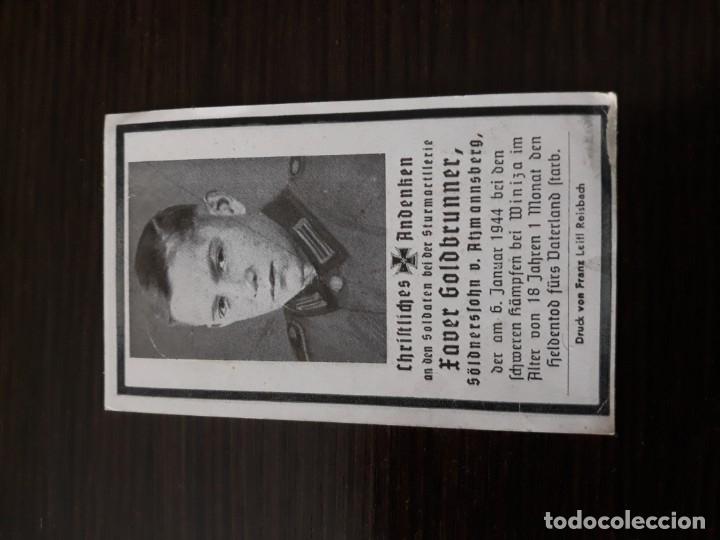 Militaria: Lote de esquelas cartas de la muerte, alemanas 2 guerra mundial - Foto 12 - 180471123