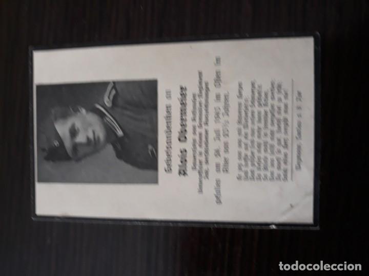 Militaria: Lote de esquelas cartas de la muerte, alemanas 2 guerra mundial - Foto 14 - 180471123