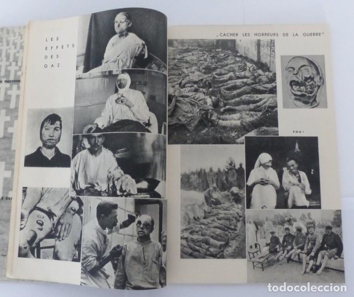 Militaria: IMAGES SECRÈTRES DE LA GUERRE - 200 PHOTOS - CENSURÉES EN FRANCE - 1933. - Foto 2 - 180483361