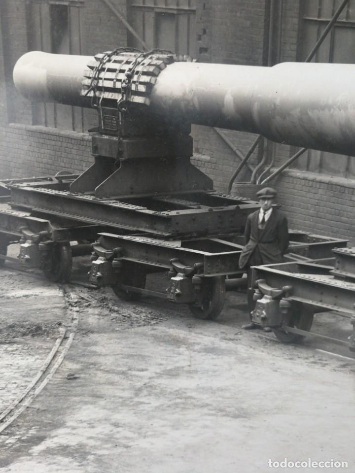Militaria: Cañón de ferrocarril - Foto 4 - 180856075