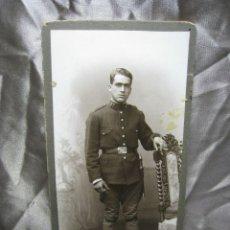 Militaria: FOTOGRAFIA MILITAR ORIGINAL. CASSIGNOL. BARCELONA. Lote 180857572