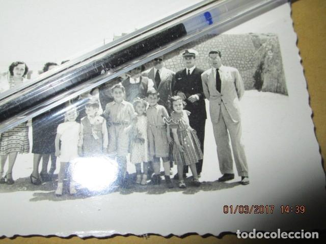 Militaria: oficiales y piloto aviACION FOTO ORIGINAL GUERRA CIVIL LEGION ESPAÑA 1939 MELILLA - Foto 3 - 180920951
