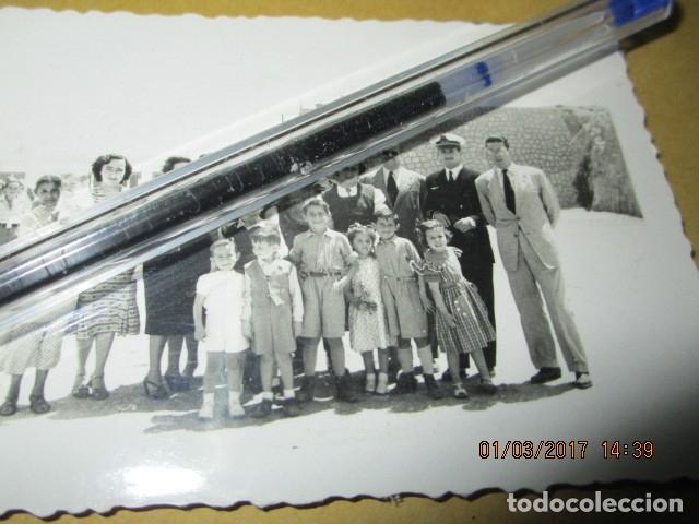 OFICIALES Y PILOTO AVIACION FOTO ORIGINAL GUERRA CIVIL LEGION ESPAÑA 1939 MELILLA (Militar - Fotografía Militar - Guerra Civil Española)