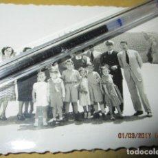 Militaria: OFICIALES Y PILOTO AVIACION FOTO ORIGINAL GUERRA CIVIL LEGION ESPAÑA 1939 MELILLA. Lote 180920951