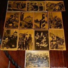 Militaria: SERIE I COMPLETA CON 12 POSTALES DE LA DIVISIÓN AZUL, LA CRUZADA EUROPEA CONTRA EL BOLCHEVISMO, MUÑO. Lote 181000178