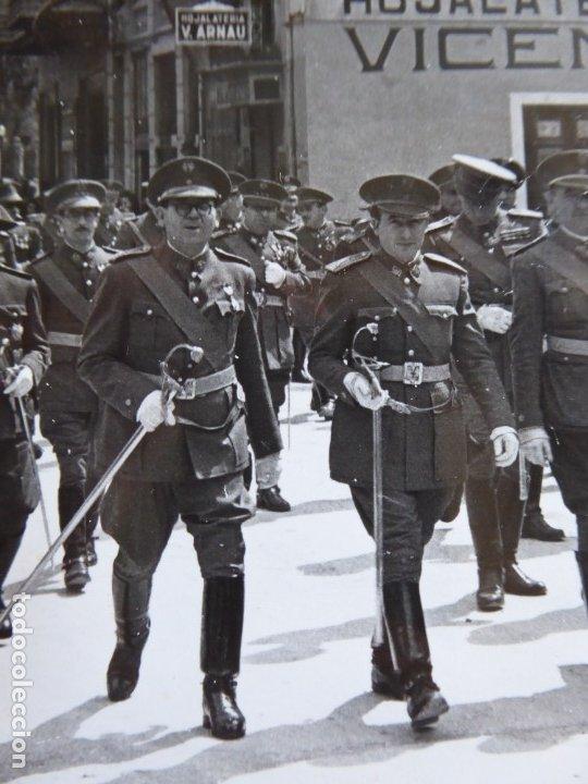 Militaria: Fotografía oficiales del ejército español. Castellón - Foto 3 - 181140155